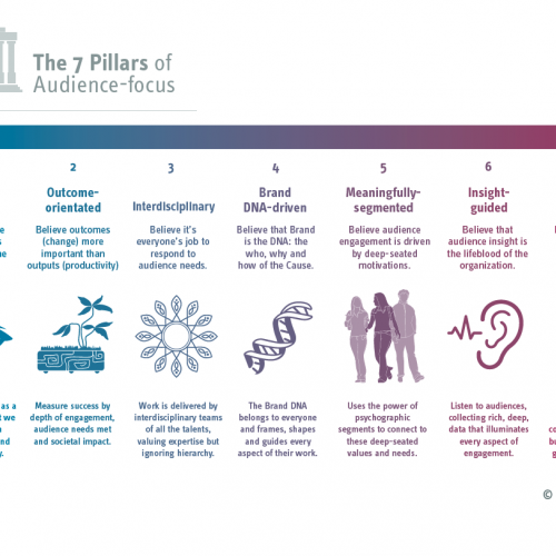 Image for The 7 Pillars of Audience-focus