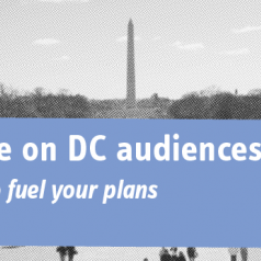 Image for A new perspective on Washington DC audiences